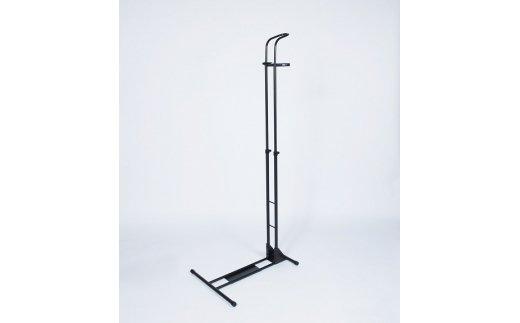 【ふるさと納税】ロードバイク 縦置き用ディスプレイスタンド iWA A01V ブラック