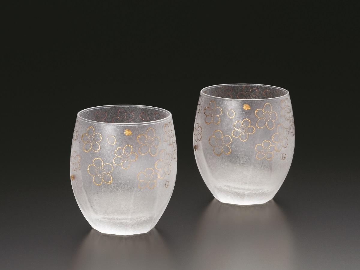 【ふるさと納税】石塚硝子製ペアグラス(オールドグラス)