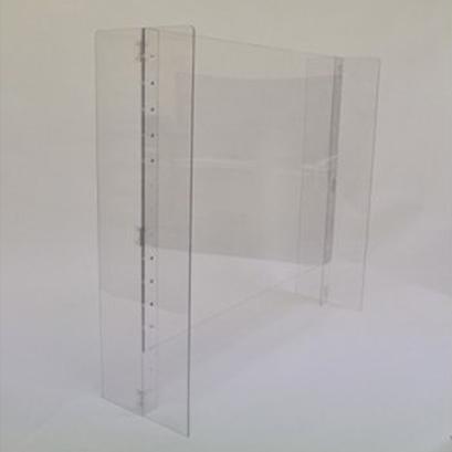 愛知県日進市 ふるさと納税 品質保証 新型コロナウイルス対策飛沫防止パネルで全国を応援 高さを変えられる 日用品 安定感のあるH型モデル 幅90cm×高さ65cm 大幅にプライスダウン 雑貨