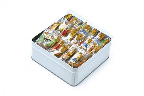 【ふるさと納税】 美鹿山荘 カレーのおせんべい 缶入り