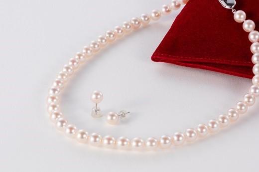 ふるさと納税 毎日がバーゲンセール Q-24アコヤ真珠ジュエリーセット 豊富な品