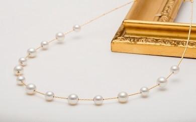 【ふるさと納税】Q-4K18製 あこや真珠ネックレス