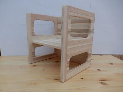 【ふるさと納税】熊野杉「子供用イス、テーブルにも使用できます」