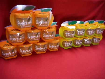 【ふるさと納税】【熊野みかん&甘夏みかんまるごとゼリー17個☆】包装なし・ご家庭用