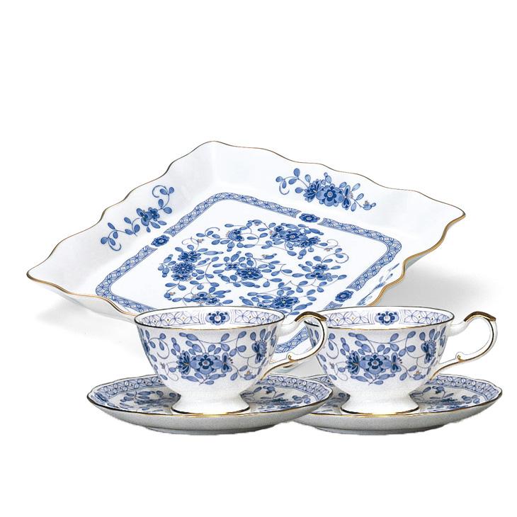 【ふるさと納税】NARUMI【ミラノ】フレアープレート&ペア碗皿セット