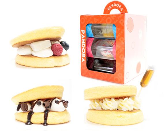 【ふるさと納税】No.167 パンドラ3個入りギフトボックス×2セット / 洋菓子 パンケーキと生どらを合わせたスイーツ