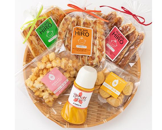 【ふるさと納税】No.172 ふなずし加工品セット / 洋菓子 菓子 調味料 パイ クッキー あられ ドレッシング