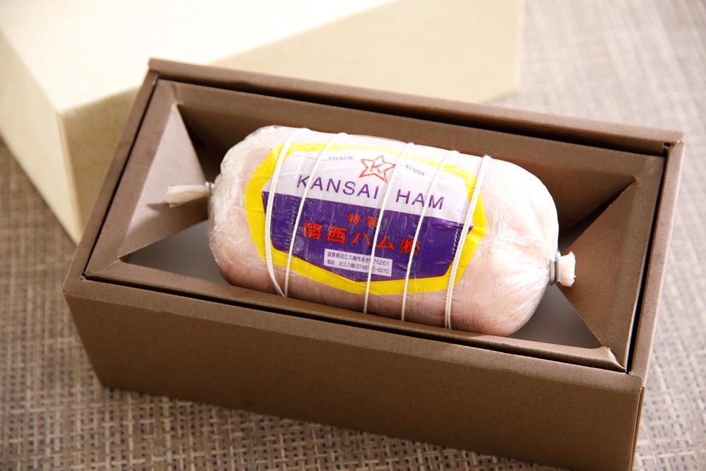 特に国内産のもち豚にこだわり フレッシユなもも肉だけを使用 肉 ___ 1本入り 800g 贈与 新作 ふるさと納税 関西ハム