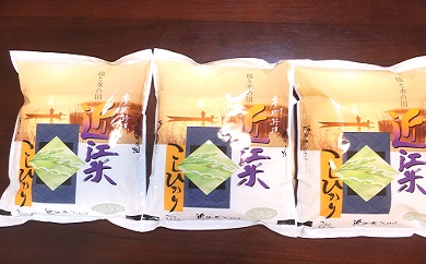 【ふるさと納税】【1年産】近江米コシヒカリ2kg×3袋