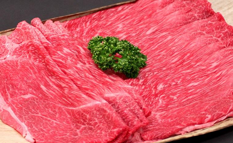 RK-053 ふるさと納税 日本三大黒毛和牛 最安値 セール価格 近江牛 純近江牛すき焼き 500g しゃぶしゃぶ用モモ肉スライス