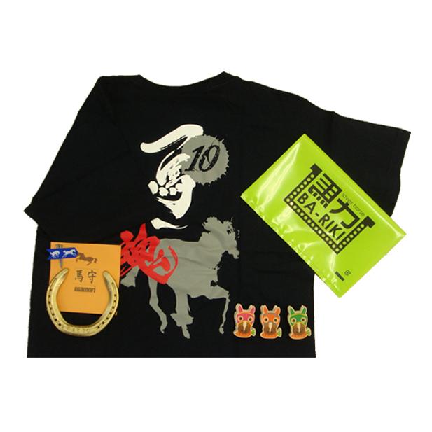 滋賀県栗東市 ふるさと納税 馬グッズ蹄鉄 Tシャツ ファッション 安心の実績 高価 記念日 買取 強化中 雑貨 日用品 マグネット