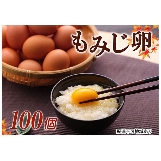 【ふるさと納税】湖南市産 もみじ卵 100個 【卵】