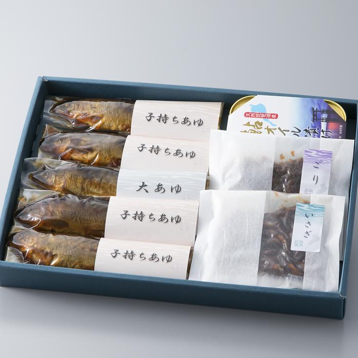 【ふるさと納税】【T-128】井保水産 子鮎・湖魚の佃煮6種セット