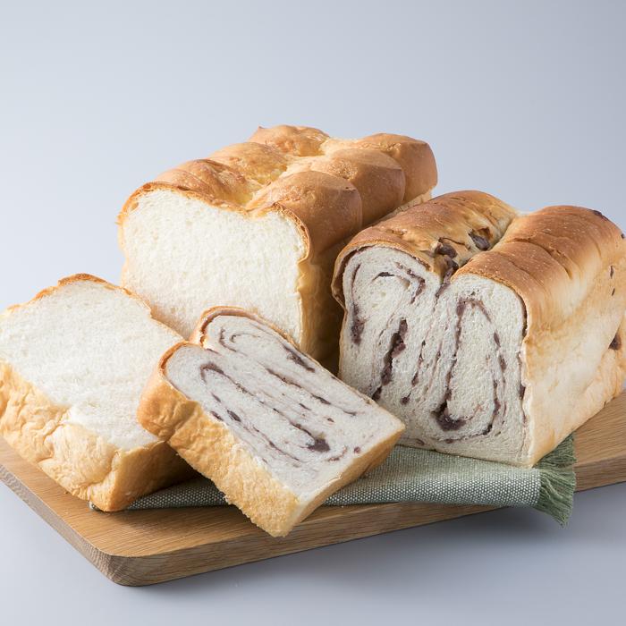 売れ筋ランキング ふるさと納税 H-454 宝牧場 MILKCROWN あん食パンセット バタートップ ミルク食パン 高島屋選定品 10%OFF