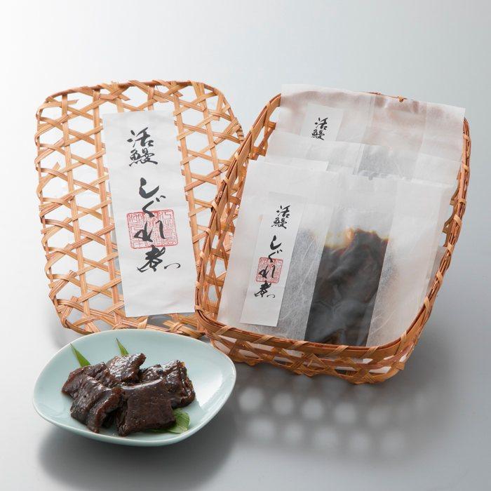 【ふるさと納税】【T-447】近江高島 鮎池元 吉本 鰻しぐれ煮個食3個セット