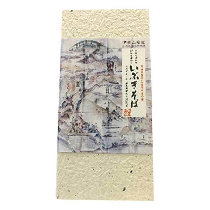 【ふるさと納税】日本そば発祥 蘇った在来種「いぶきそば」6人分 【そば・蕎麦】