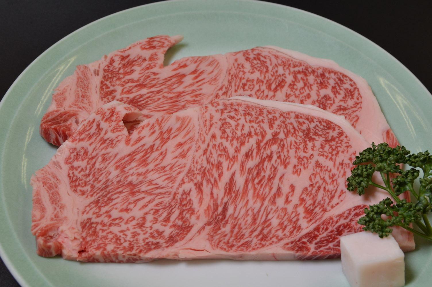 【ふるさと納税】<京都・モリタ屋>京都肉サーロインステーキ2枚(440g)、モモバラ焼肉380g