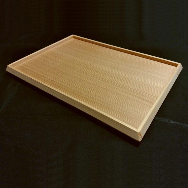 職人がつくった木のトレー ふるさと納税 木の香アート まどころ 新商品 新型 リバーシブル仕様の杉板トレー NEW