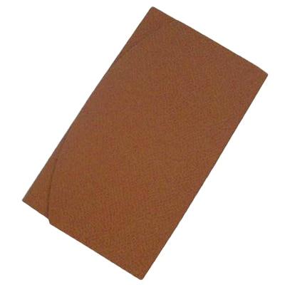 持ち運びに便利なバッグにも入る大きさのふくさです ふるさと納税 正絹縮緬伝統色金封ふくさ 1005830 オンライン限定商品 丁字茶 出群