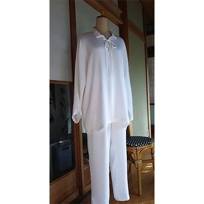 【ふるさと納税】ウォッシャブルシルクのパジャマ【1107053】