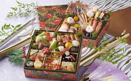 【ふるさと納税】音羽謹製 おせち料理「竹」 冷蔵 3人前 和風 正月