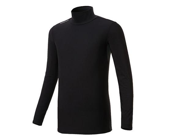 【ふるさと納税】防寒用ハイネック長袖インナーシャツ(男性用M・L・XL)