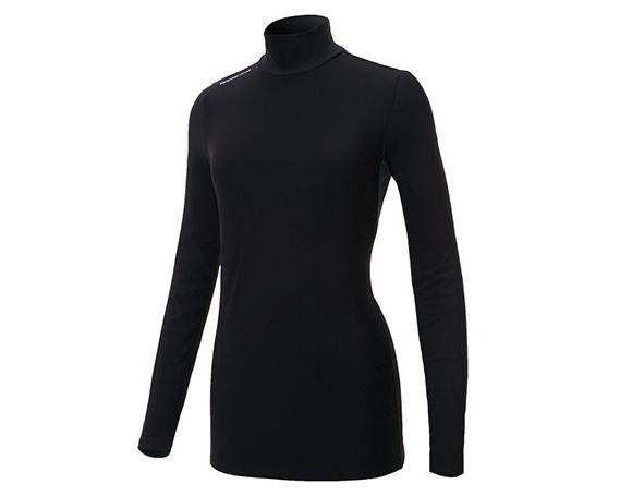 【ふるさと納税】防寒用ハイネック長袖インナーシャツ(女性用S・M・L)