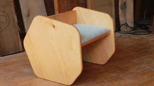【ふるさと納税】木のある暮らしproduct サイドテーブル/チェア