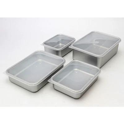 【ふるさと納税】アルミ蓋付き保存容器 4点セット(各種詰め合わせ)