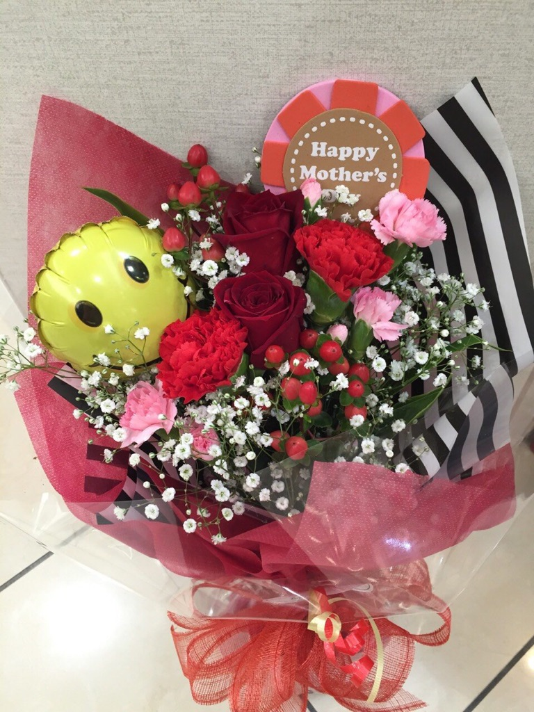ふるさと納税 D-172 永遠の定番モデル 母の日ギフト 生花の花束30cm お母さんへのプレゼントに 全品送料無料
