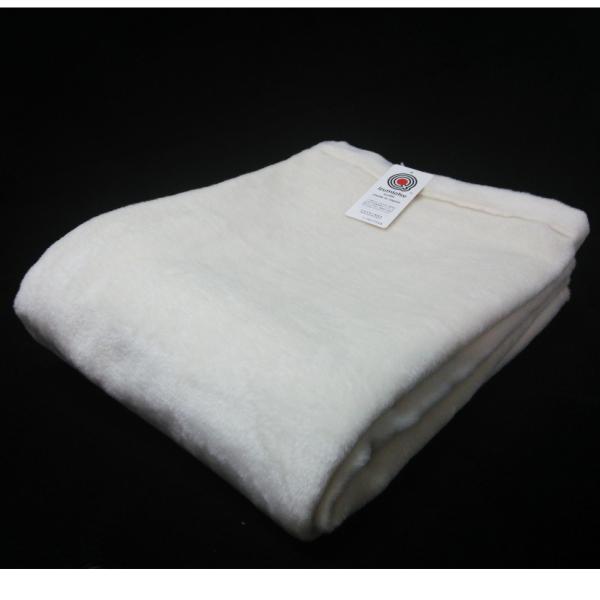 【ふるさと納税】純白シルク毛布