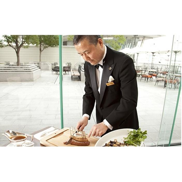 【ふるさと納税】「黄綬褒章」受章記念 現代の名工による特別カービングペアディナー