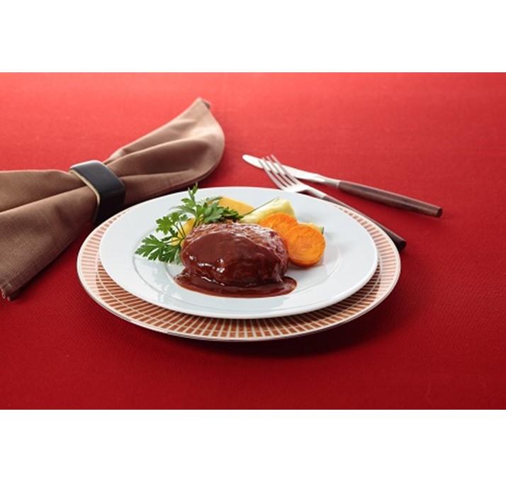 【ふるさと納税】【冷凍発送】神戸牛ハンバーグ(デミソース仕立て)2個