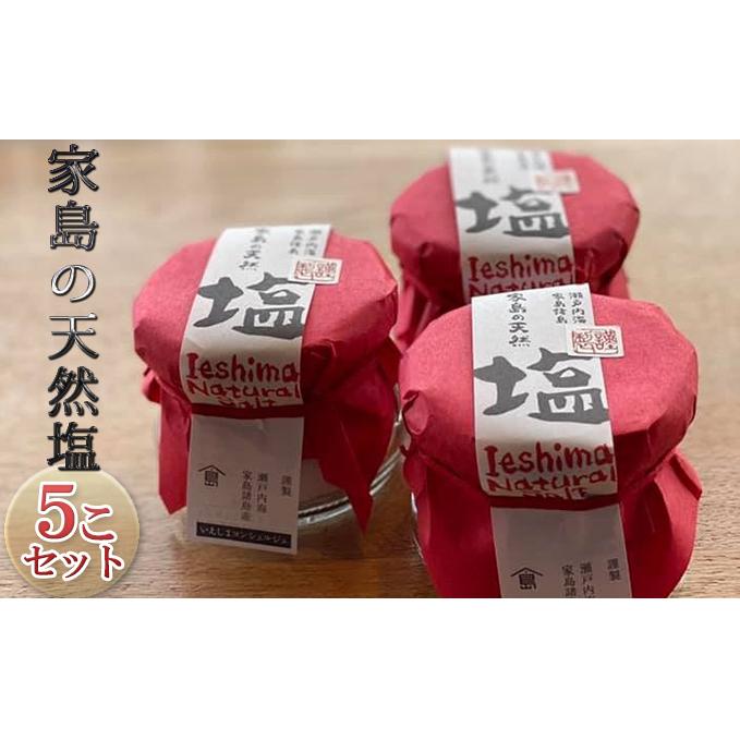 本店 兵庫県姫路市 ふるさと納税 家島の天然塩5こセット 海塩 調味料 数量は多