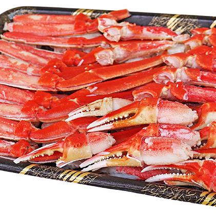 【兵庫県明石市】 【ふるさと納税】ボイルズワイ蟹ハーフポーション1.2kg 【ずわい蟹・ずわいガニ・ズワイガニ】