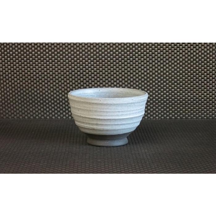 ふるさと納税 AJ11:圓平窯の陶器 白釉 公式 黒土 フリーカップ プレゼント