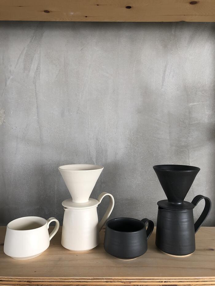 【祝開店!大放出セール開催中】 【ふるさと納税】yoshida pottery pottery コーヒーのうつわ3点set, 男の台所:2f40a230 --- mail.freshlymaid.co.zw
