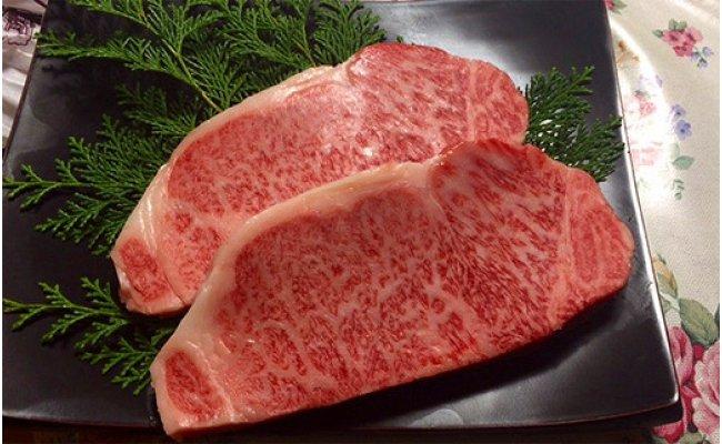 """【ふるさと納税】究極の但馬牛""""但馬玄(たじまぐろ)""""サーロインステーキ 1kg / 肉 牛肉"""