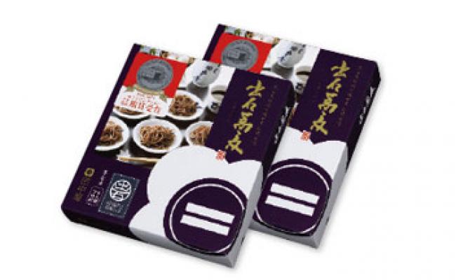 【ふるさと納税】出石蕎麦(6人前)×2(48-046) / 出石そば