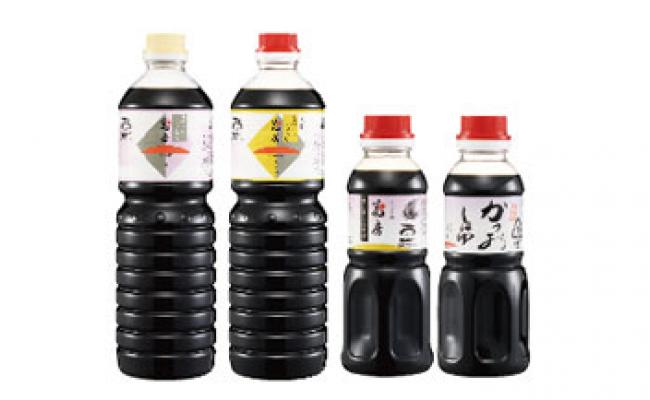 【ふるさと納税】しょうゆの花房セット / 醤油