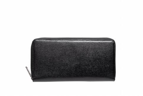 【ふるさと納税】オーガナイザー 豊岡財布 TRV0101W-10(ブラック)/ カバン かばん