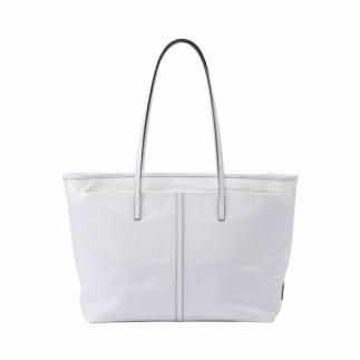 【ふるさと納税】トートバック 豊岡鞄 CRSC-001(ホワイト)/ カバン かばん