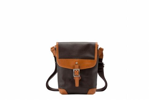 【ふるさと納税】ショルダーバッグ 豊岡鞄 BK19-101-28(ブラウン)/ カバン かばん