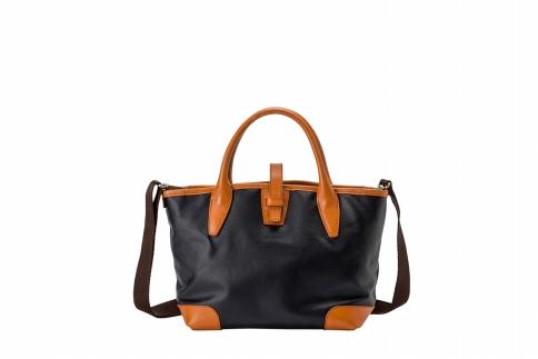 【ふるさと納税】ミニトート 豊岡鞄 BK19-105-50(ネイビー)/ カバン かばん トートバッグ