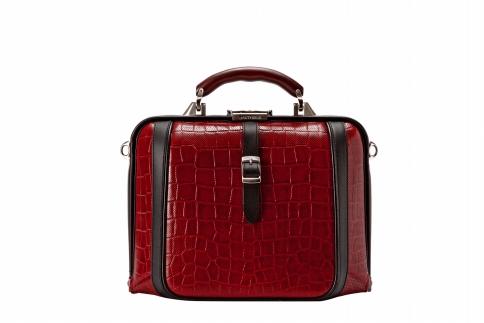 【ふるさと納税】2wayダレスバッグ 豊岡鞄 DS0-EL-90(ワイン)/ カバン かばん 手提げ
