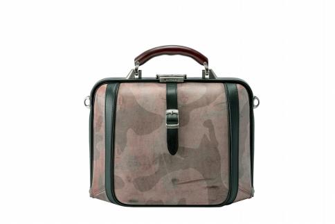 【ふるさと納税】2wayダレスバッグ 豊岡鞄 DS0-GC-30(チョコ)/ カバン かばん 手提げ