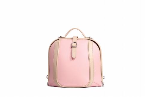 【ふるさと納税】リュックサック 豊岡鞄 DS0-BL-72(ピンク)/ カバン かばん リュック