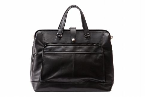 【ふるさと納税】ブリーフケース 豊岡鞄 FW01-104-10(ブラック)/ カバン かばん 手提げ