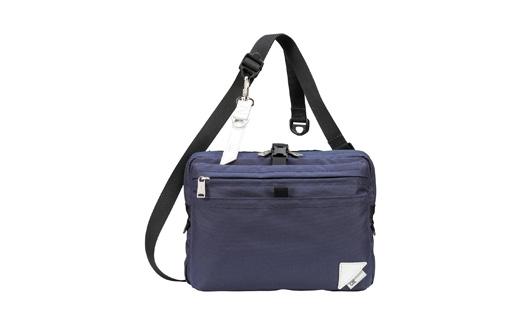 【ふるさと納税】豊岡鞄 CIE WEATHERSHOULDER(071951)ネイビー/ カバン かばん ショルダーバッグ