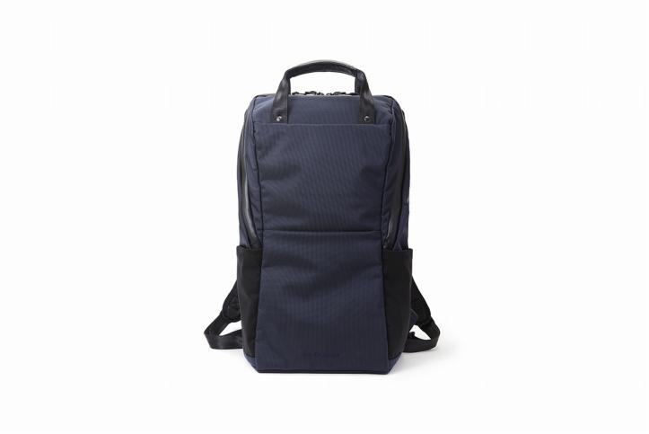 【ふるさと納税】豊岡鞄 Urban Commuter BACK PACK 2 HA(ネイビー)/ カバン かばん リュック